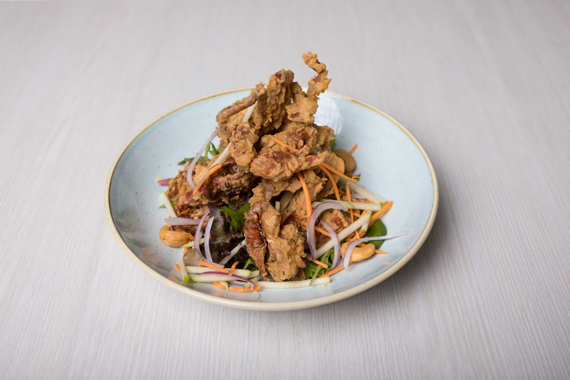 Soft Shell Crab Salad - Thai Herb